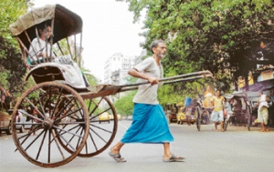 rickshaw puller