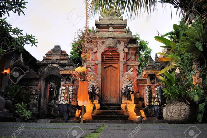 Hindu temple, Ubud, Bali